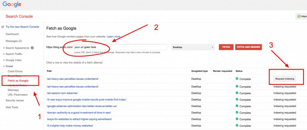 google search crawler