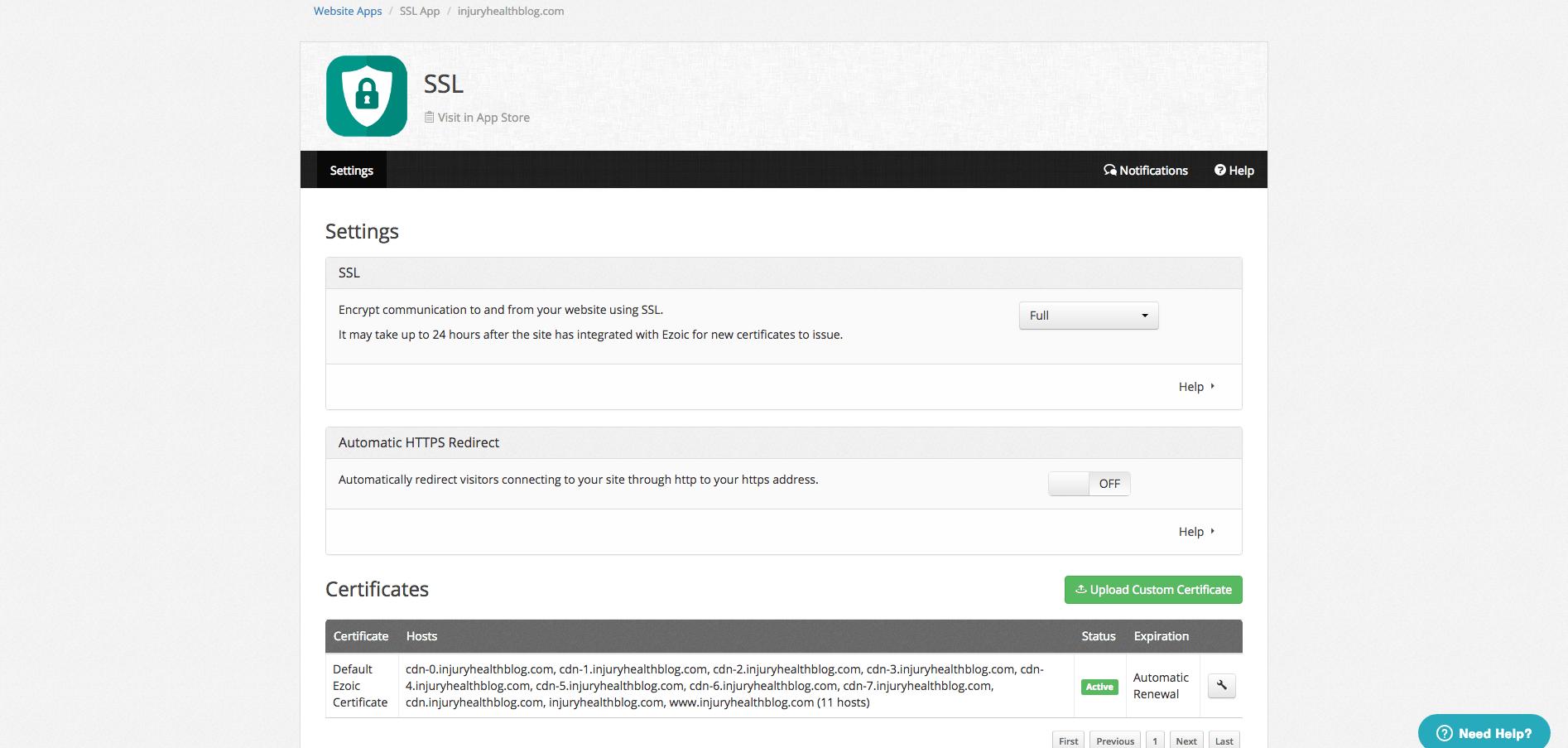 Ajouter gratuitement un ssl à votre site web