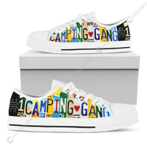 #1 Camping Gang Low Top Shoes LU88