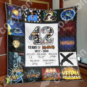 42 Years Of Def Leppard Blanket HN57