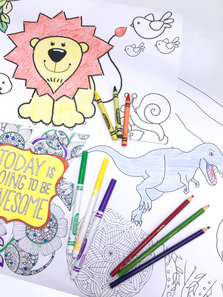 Collaborative Posters Free Printable Coloring - Worksheet & Coloring ...