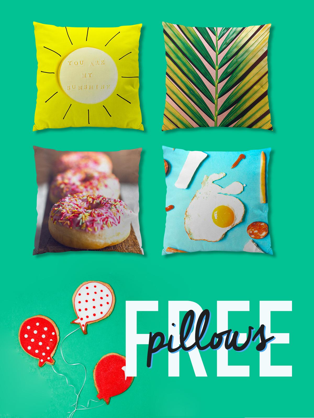 Free Pillows! - SnapBox Prints