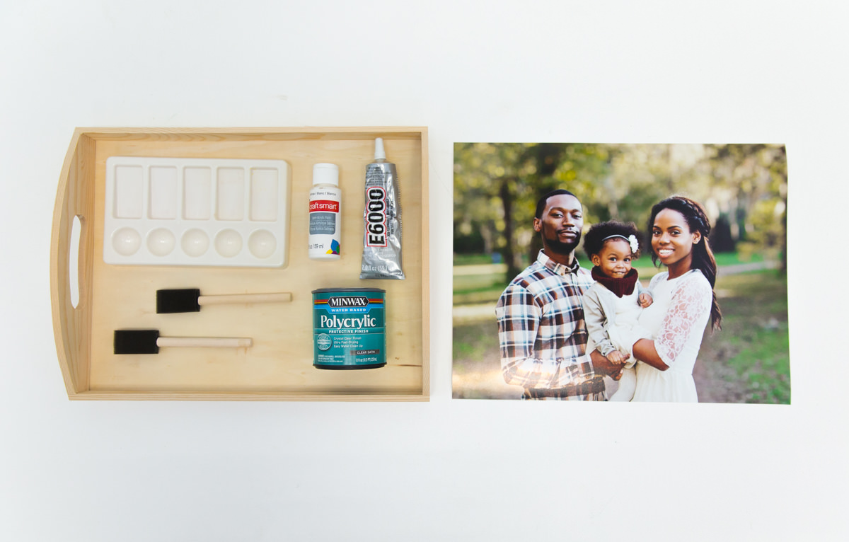 DIY Family Photo Tray - Snaps: A Blog from SnapBox