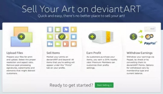deviant art online artwork