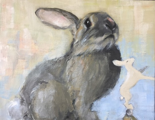 2 rabbits; 1 imposter