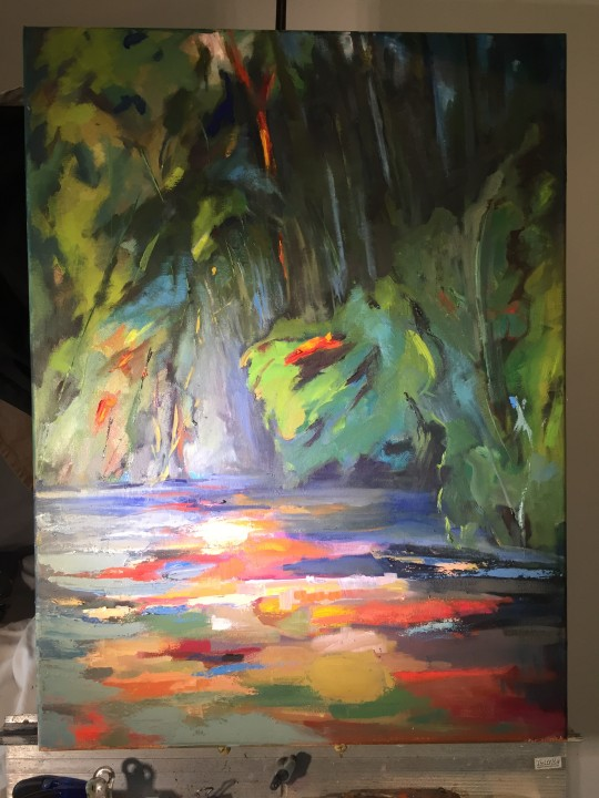 M K Delta River