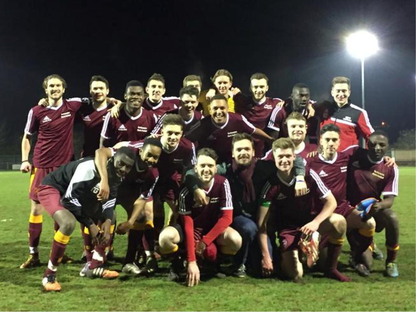 University of Northampton Mens Football Team