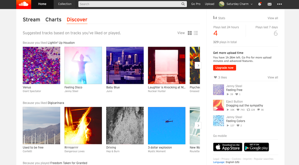 Suggested Tracks – SoundCloud Help Center