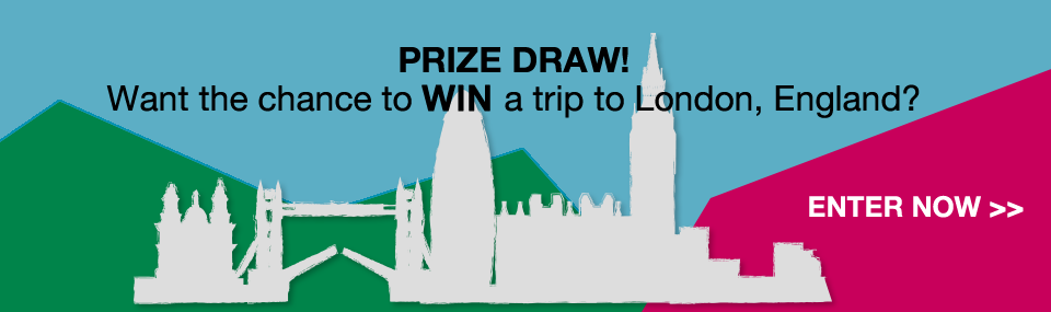 Chance to win a trip to London