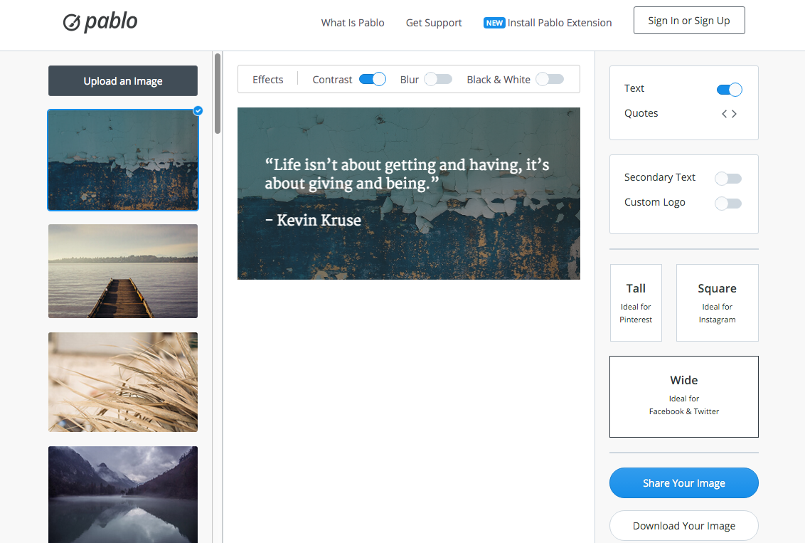 Revamp Your Site Images and Quotes