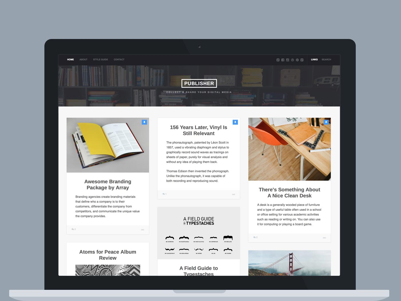 WordPress theme Publisher WordPress Theme (Blog / Magazine)