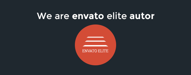We are Envato Themeforest Elite Author