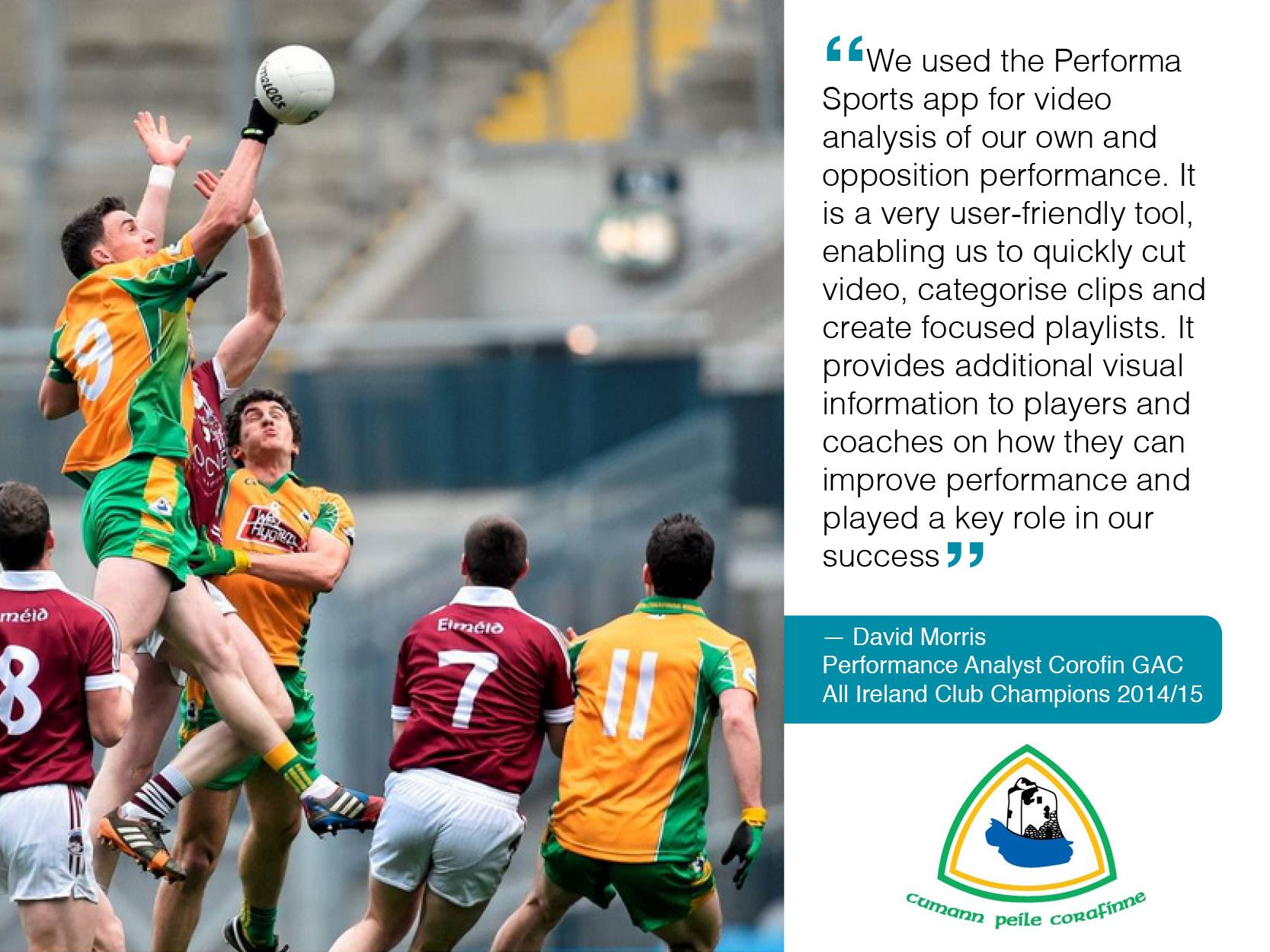 Performa Sports performance analysis helped win All Ireland