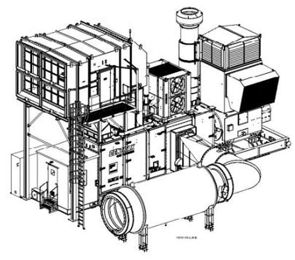 Siemens SGT 400 Generator drive package