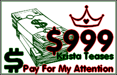 $999 Tribute for Krista!