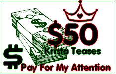 $50 Tribute for Krista!