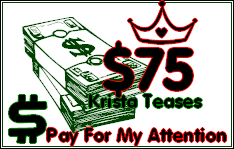 $75 Tribute for Krista!