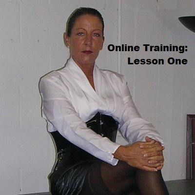 female domination slave training