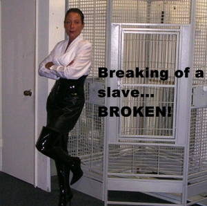 breaking of a slave