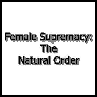 female superiority femdom