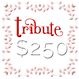 You still aren't worthy Tribute - $250