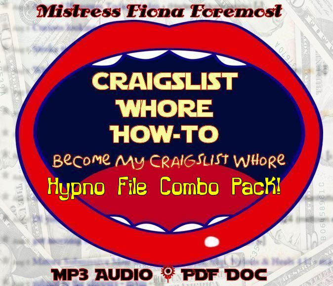 Craigslist Whore How-to Combo Pack