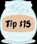 tip me $15