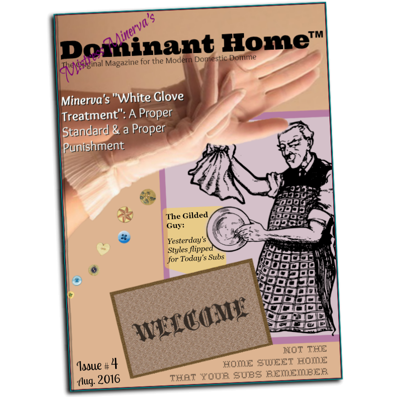 Dominant Home Magazine, Fetish Magazine
