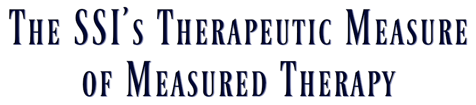 Therapeutic Measure of Measured Therapy