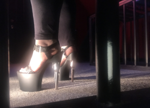 high heels foot fetish bare feet toes humiliation domination cbt ball kicking