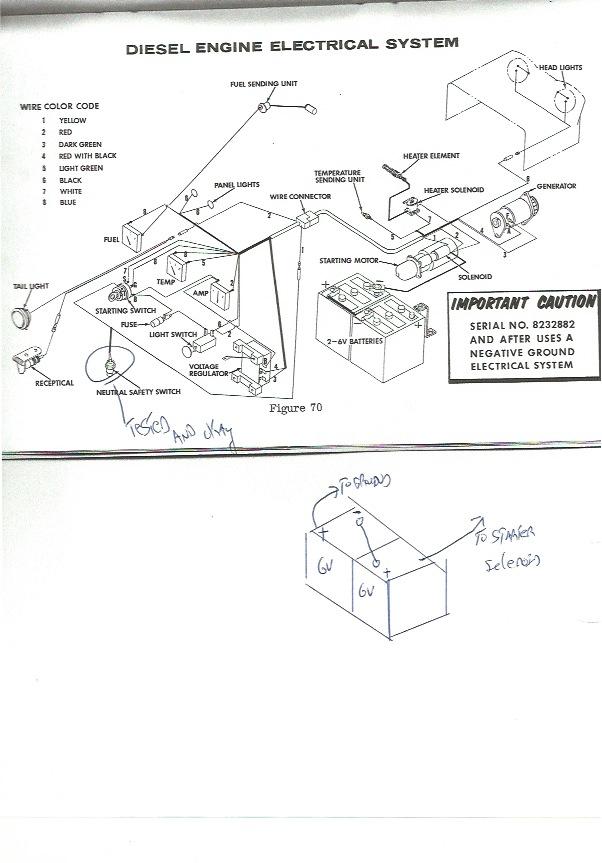 case 530 gauge wiring diagram 1966 case 530 tractor serial #beginning 822 with diesel 188