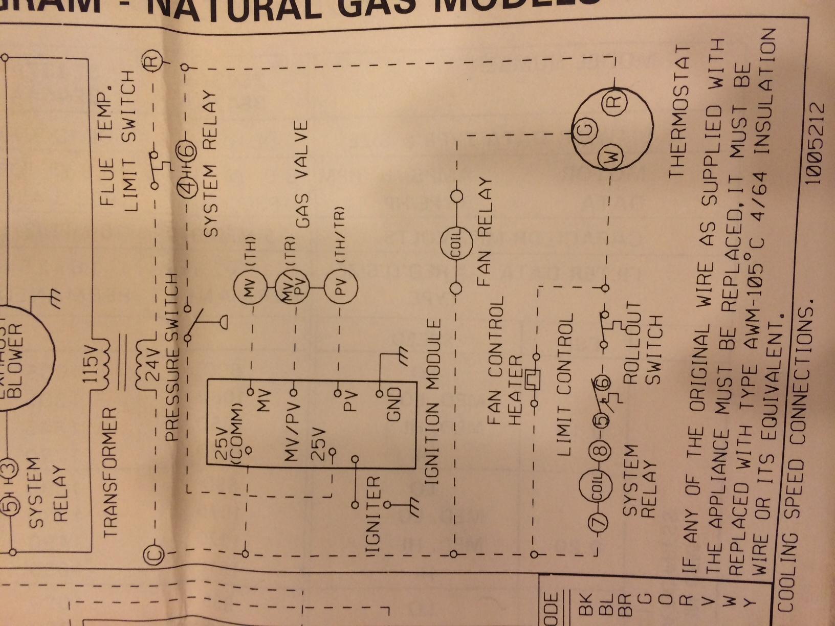 york gas furnace wiring diagram dayton gas furnace wiring diagram #15