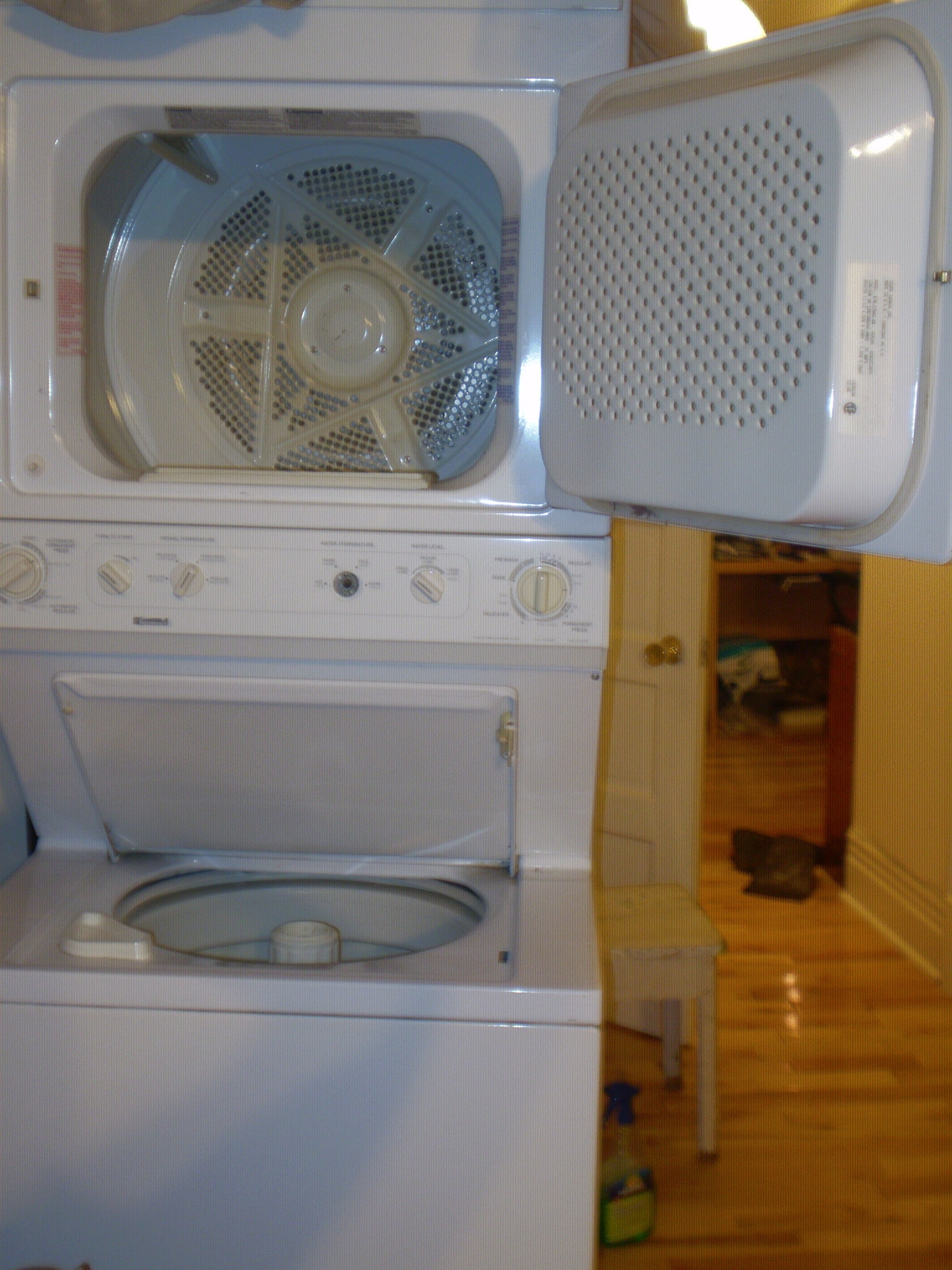 Hi My Kenmore Stackable Washer And Dryer Model No 970