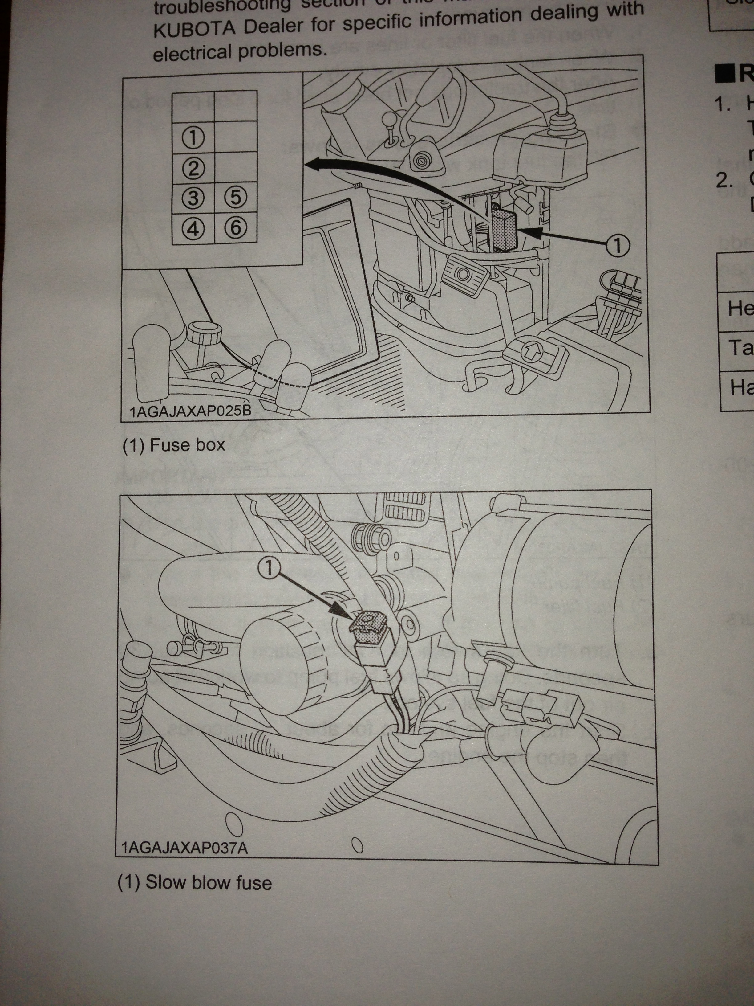 Kubota B2320 Fuse Box Product Wiring Diagrams B7510 Diagram B7800 B7610 Tractor Belly Mower
