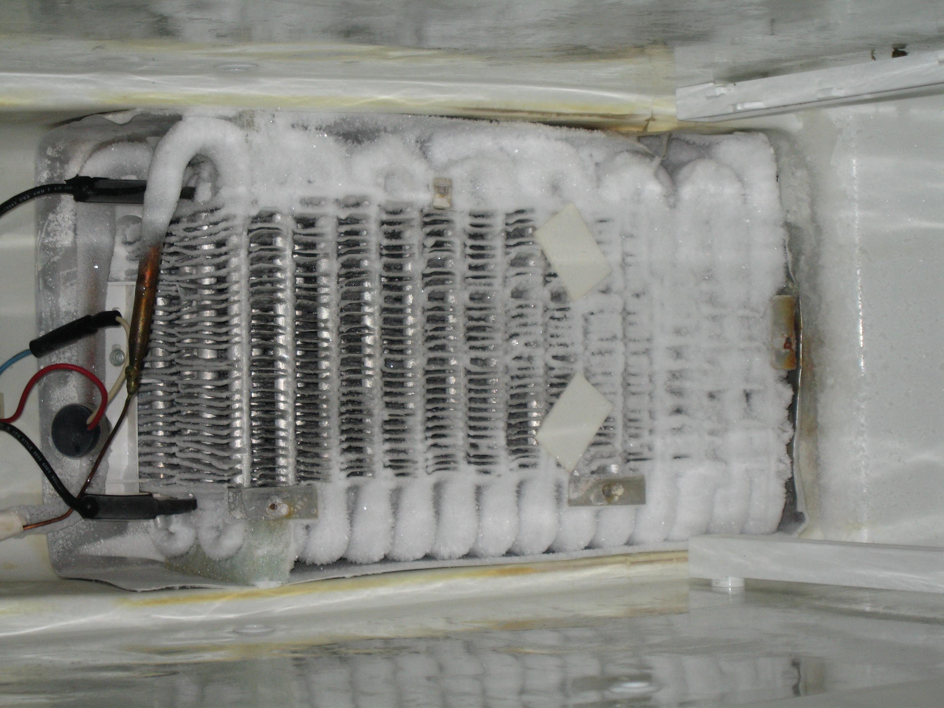 Samsung Refrigerator Evaporator Coils Freezing Pictures