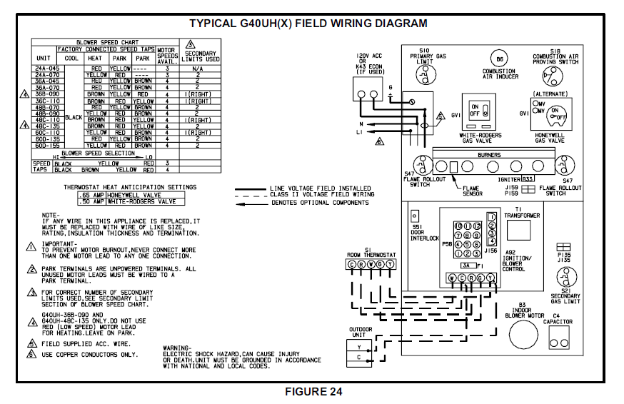 old lennox thermostat wiring diagram all categories - backupergeorgia old mercury thermostat wiring