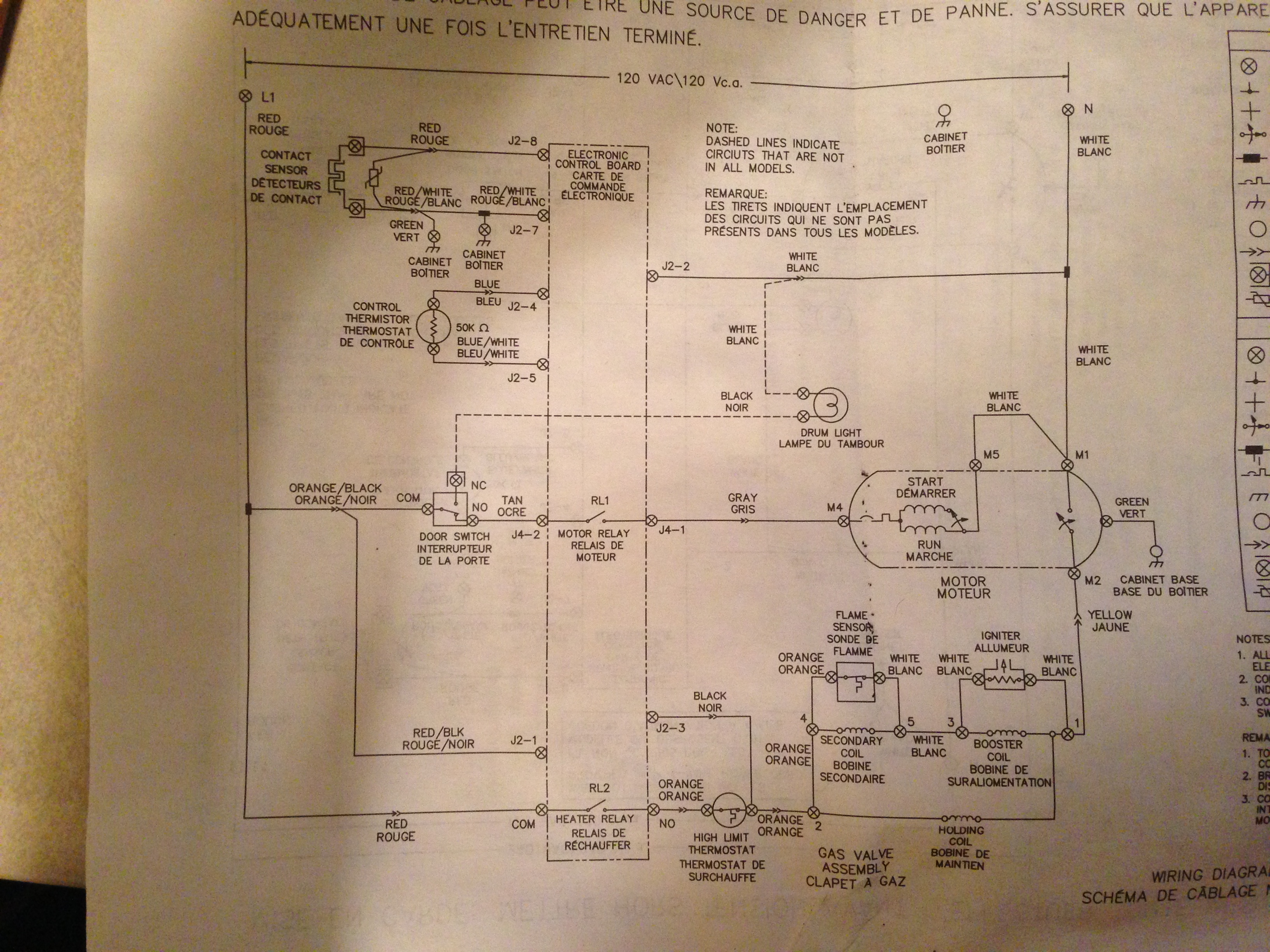 frigidaire affinity dryer wiring diagram frigidaire gleq2152eso dryer wiring diagram