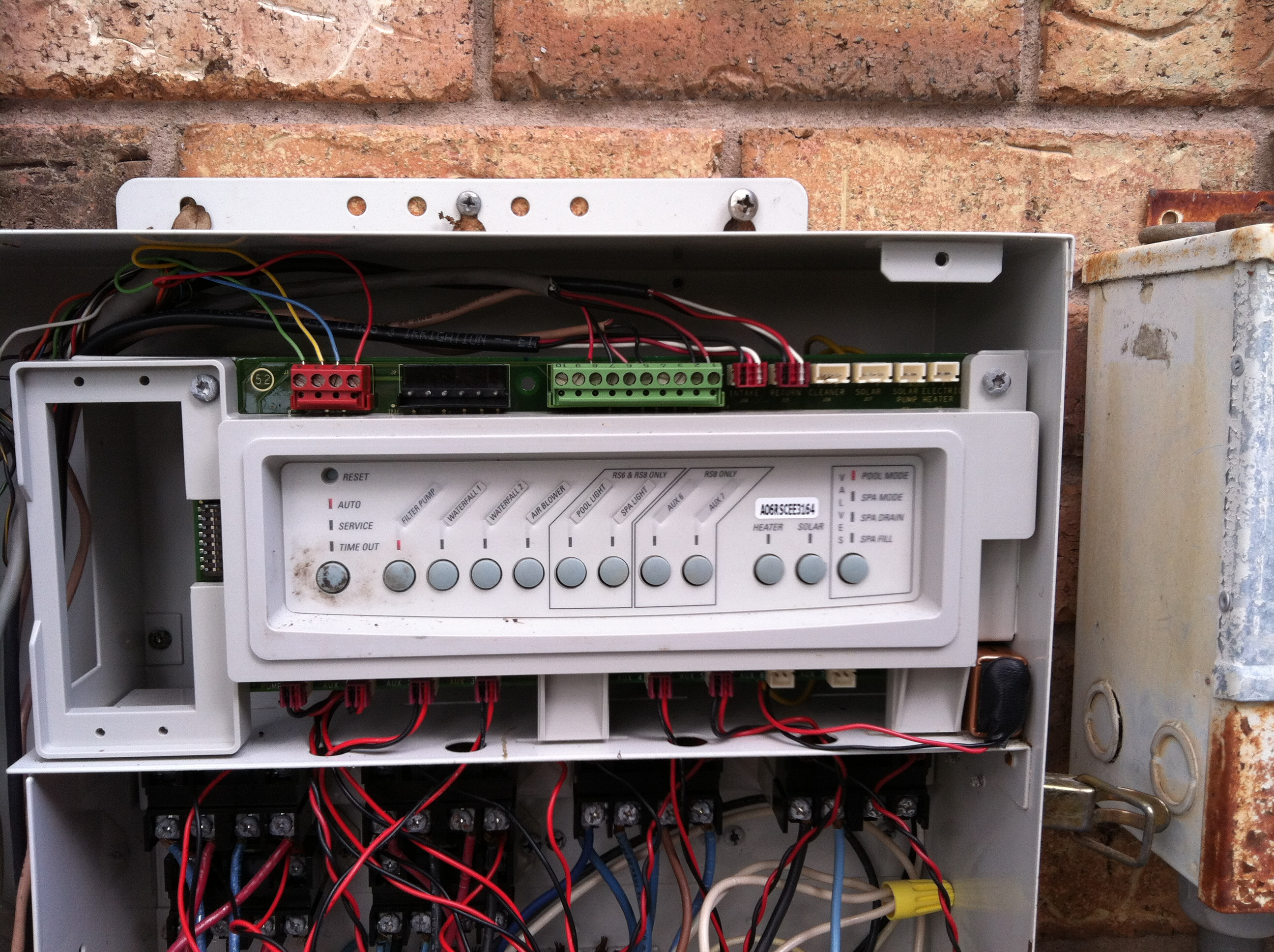 jandy aqualink control panel wiring diagram 100 kva generator control panel wiring diagram