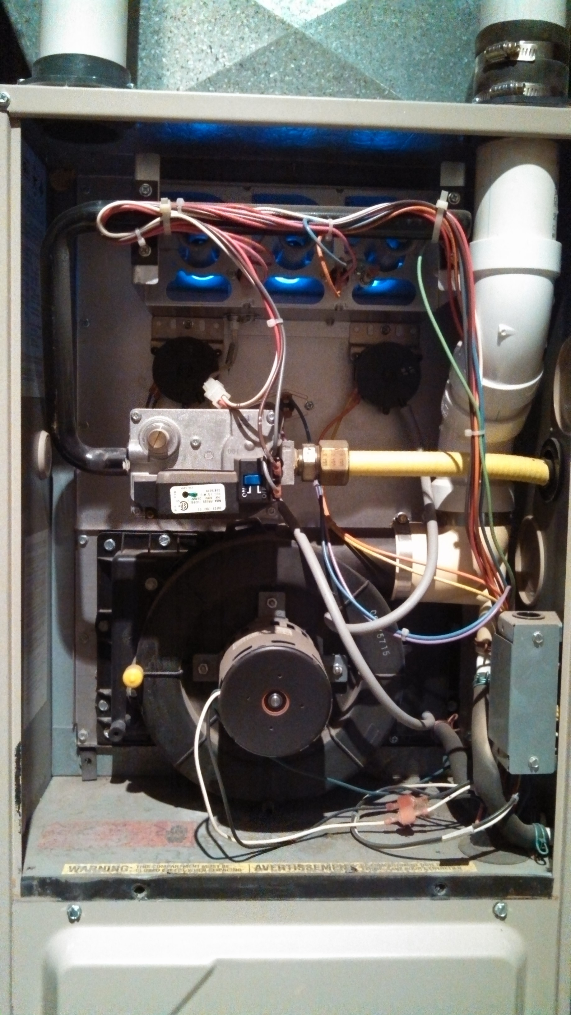 Amana 90 Air Command Ultra Efficiency Gas Furnace Wont Stay