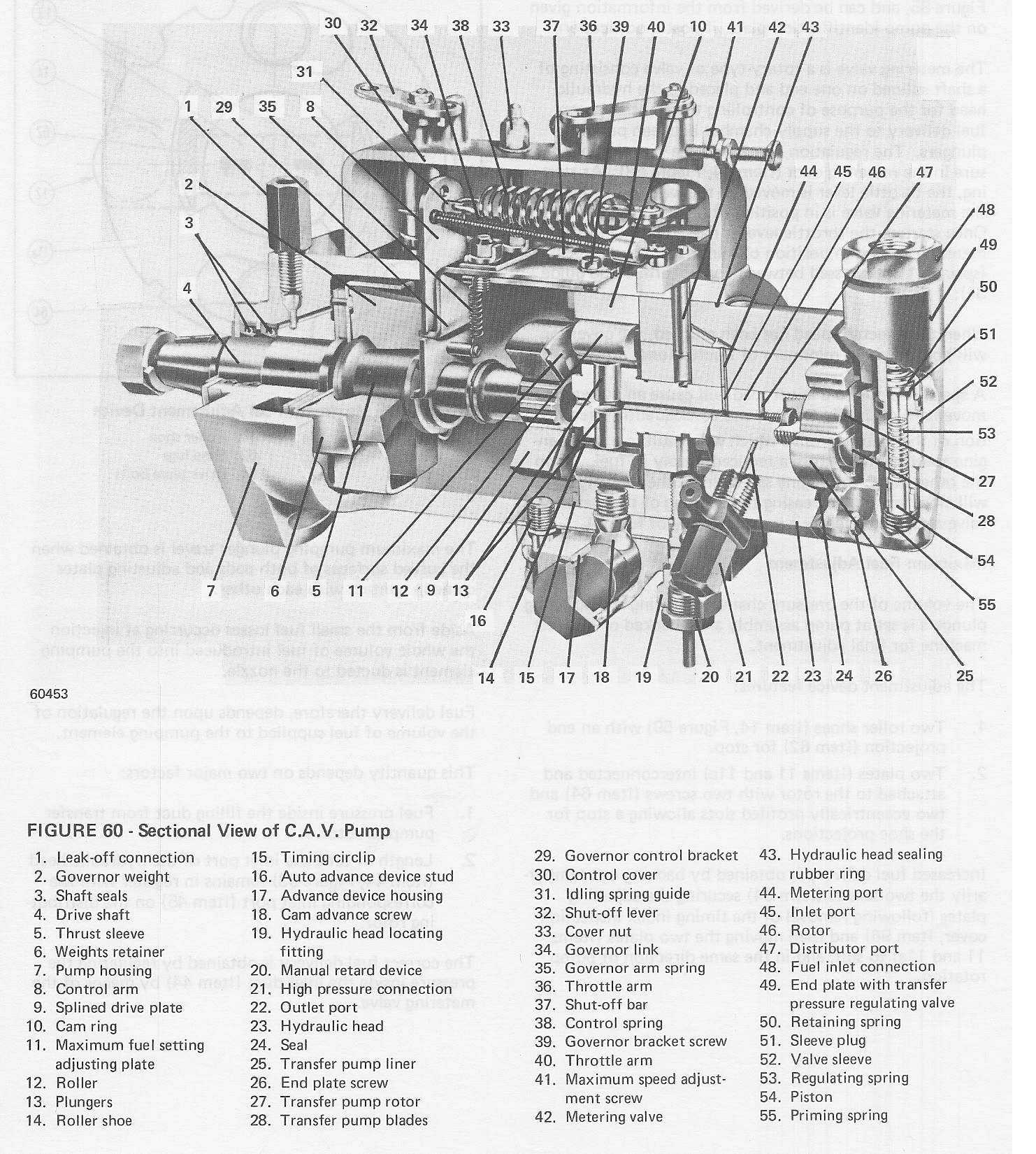 185 allis chalmers injector pump diagram allis chalmers magneto wiring diagram #7