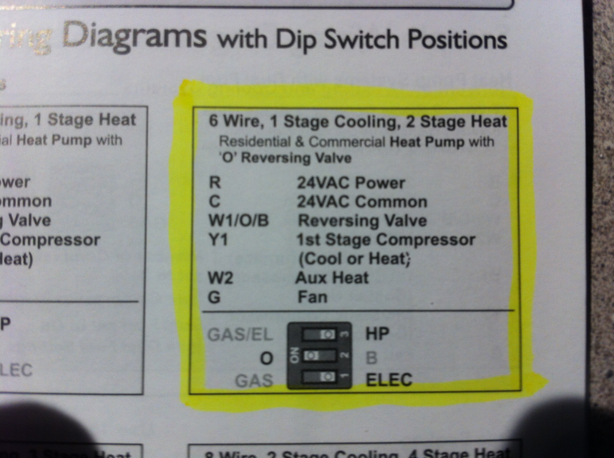 I Have A Robert Shaw 3210 Thermostat With R C B W2 E W1
