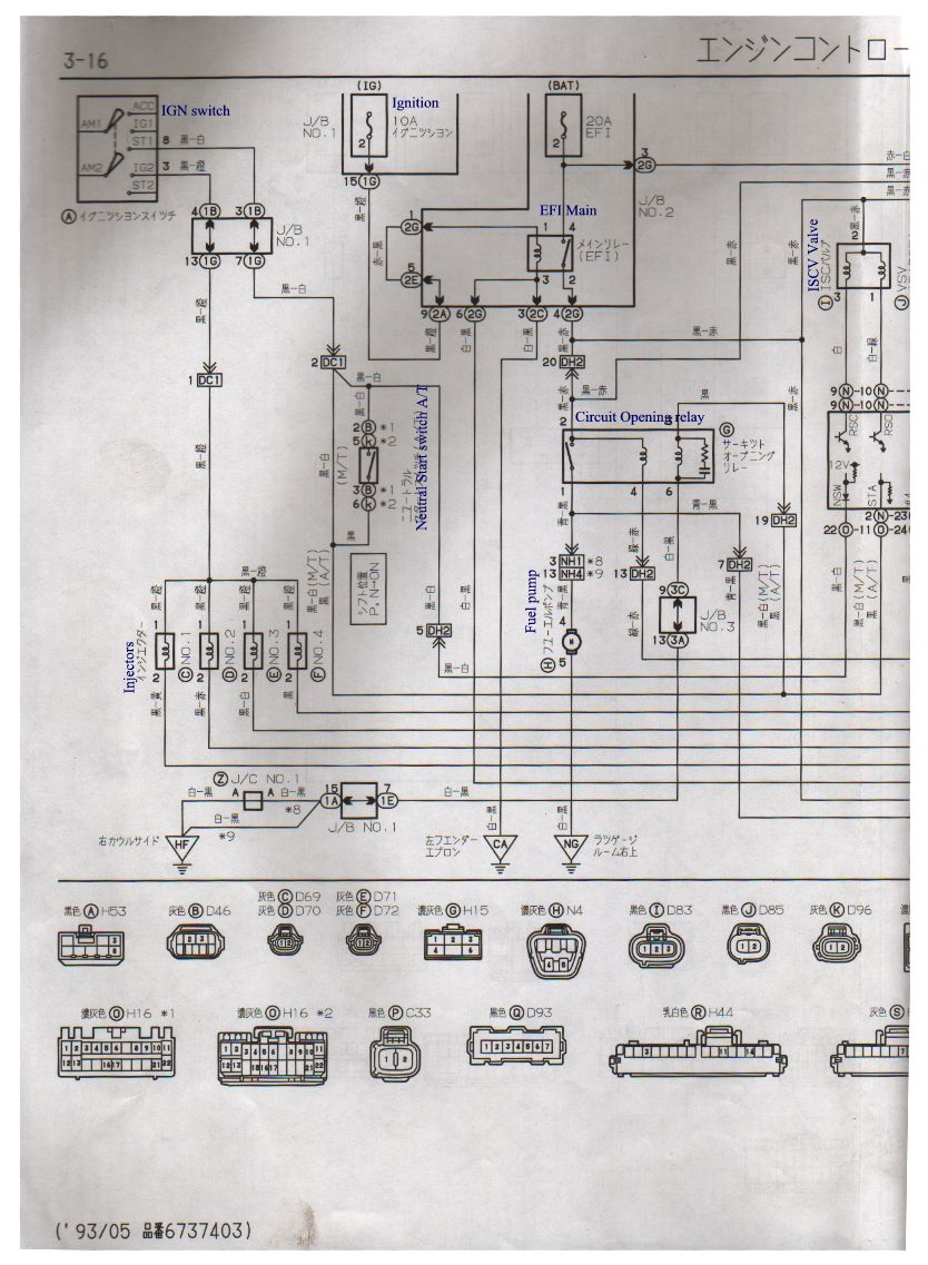 1993 toyota mr2 engine diagram toyota carina at192 hi i have a toyota carina vin #1