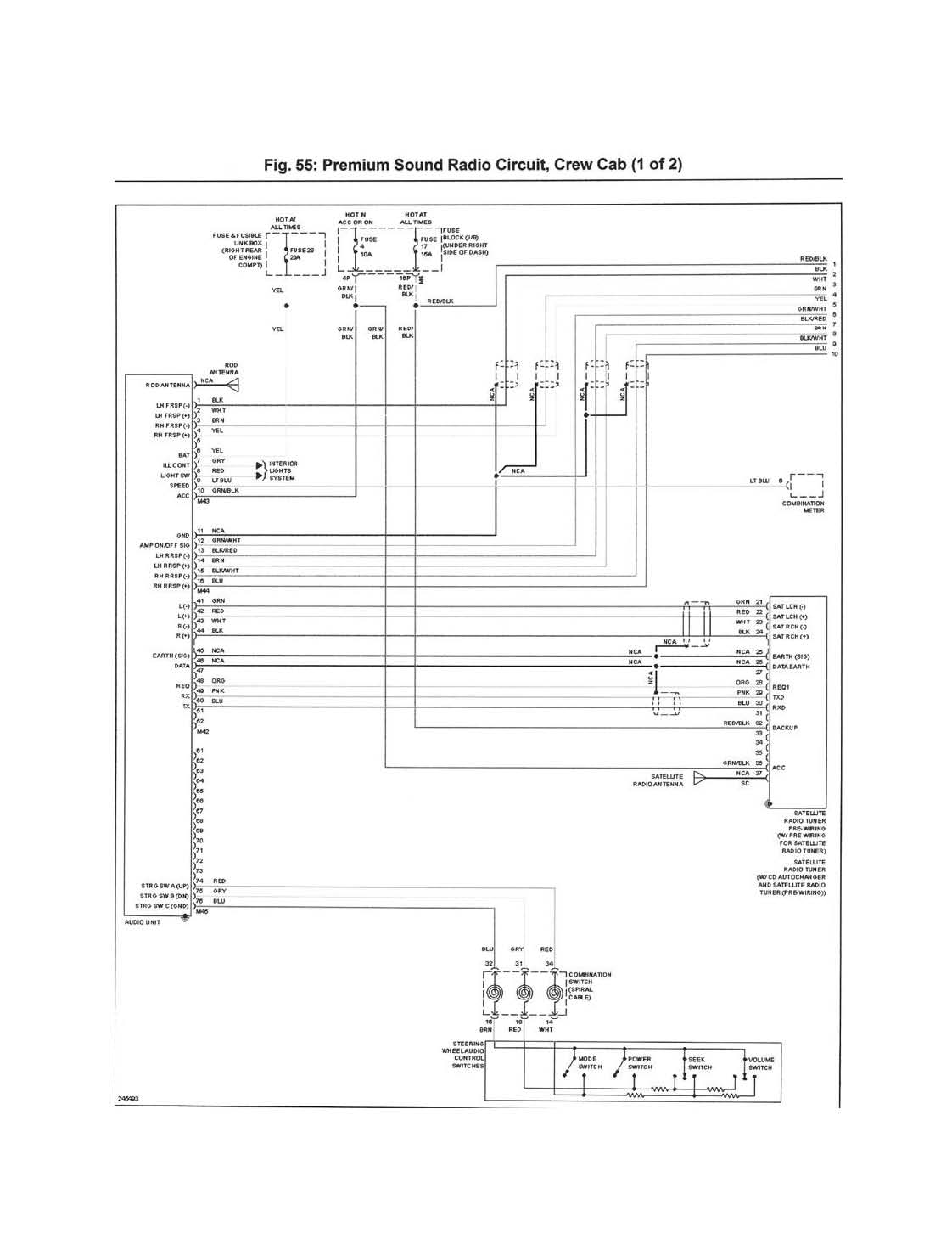2012 Nissan Frontier Crew Cab Radio Wiring Diagram Smart 2005 Maxima Car Stereo Rockford Fosgate Bose For 1996