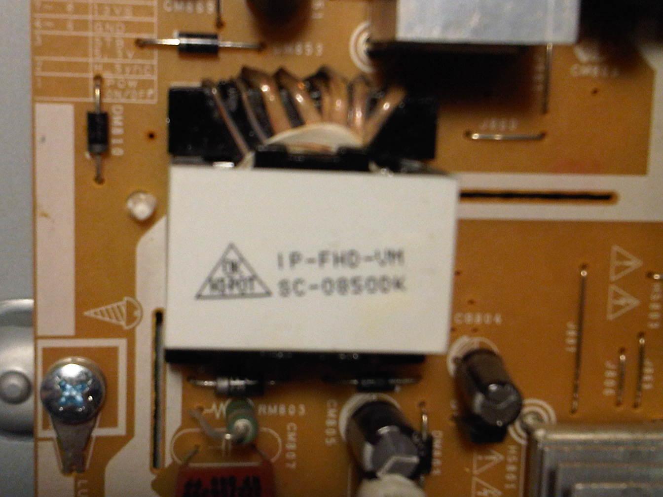 Samsung ln46b550k1fxza