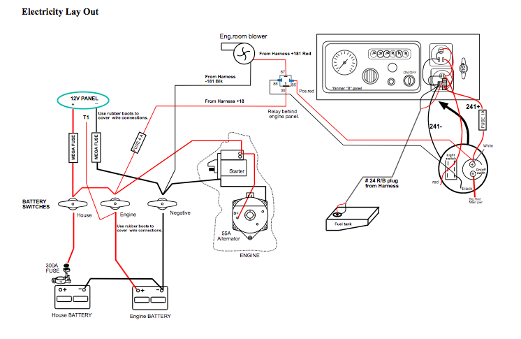 i have a beneteau 1991 38s5 and replaced the batteries wiring battery funny funny electrical wiring diagrams