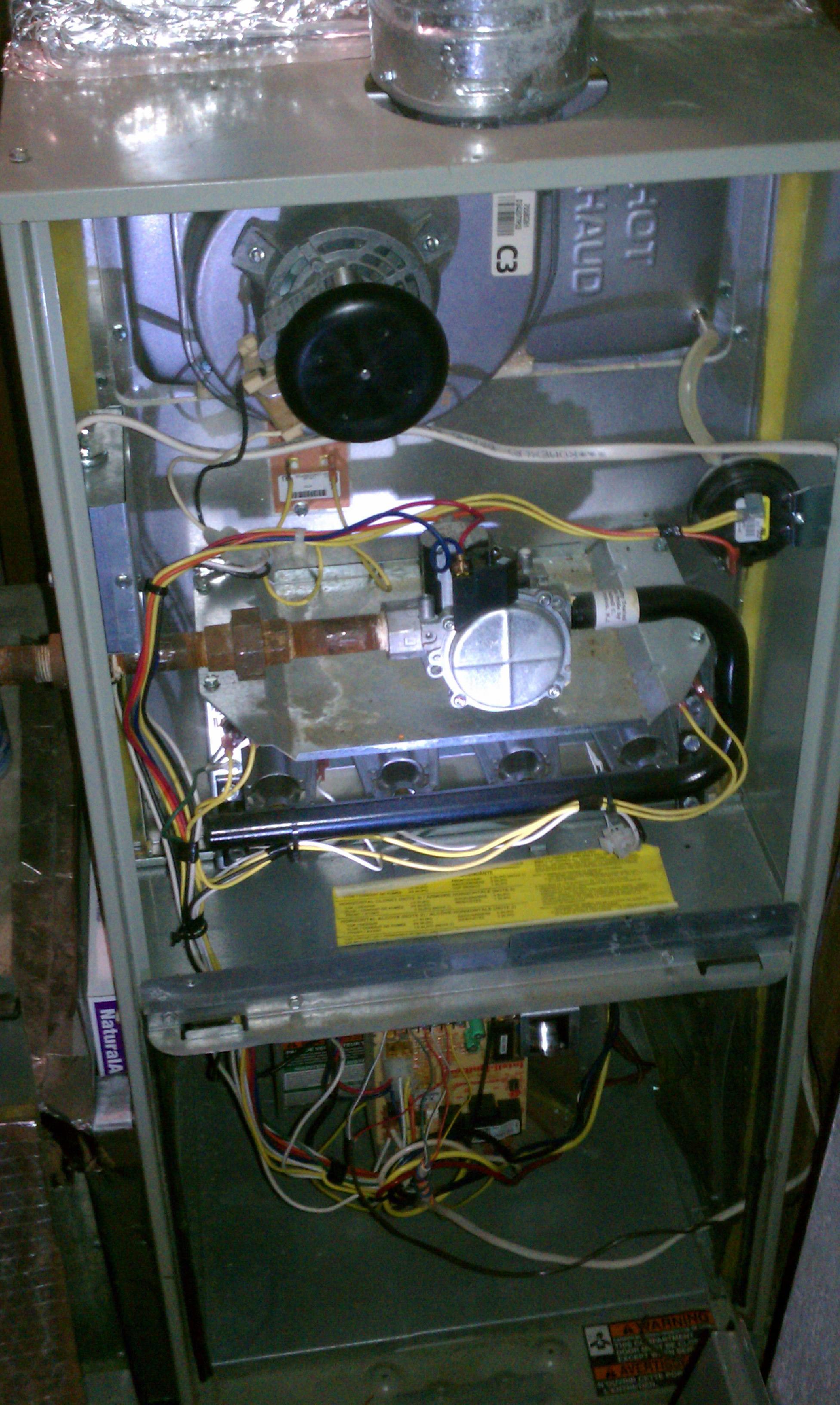 I Have A Trane Gas Furnace Xr80 Recent A Weird Problem Has