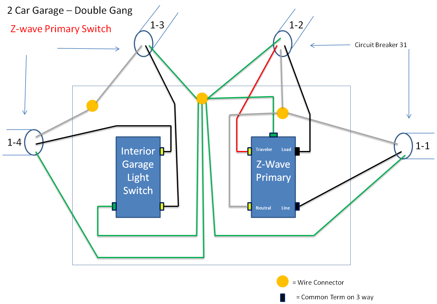 trying to wire in a ge 45614 z-wave 3 way light switch kit. three way switch wiring diagram ceiling fan three way switch wiring diagram z wave