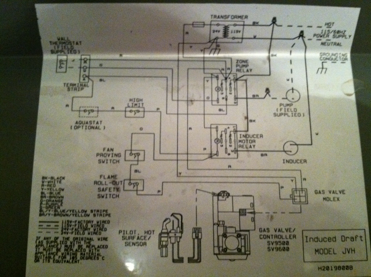 How To Wire A Honeywell Thermostat Diagram Pictures Diagrams
