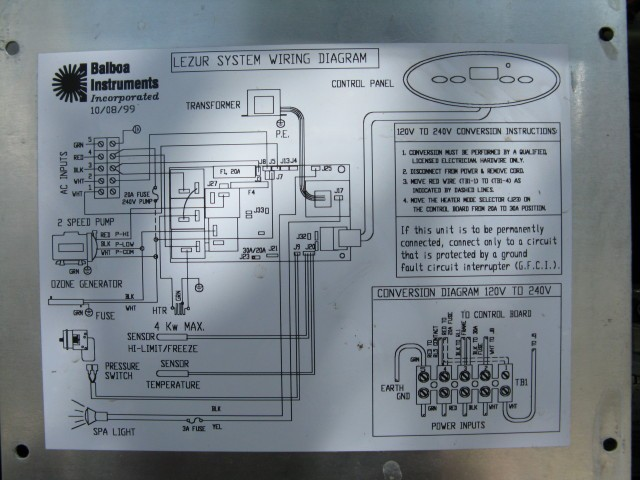marquis spa wiring diagram marquis spa wiring schematic