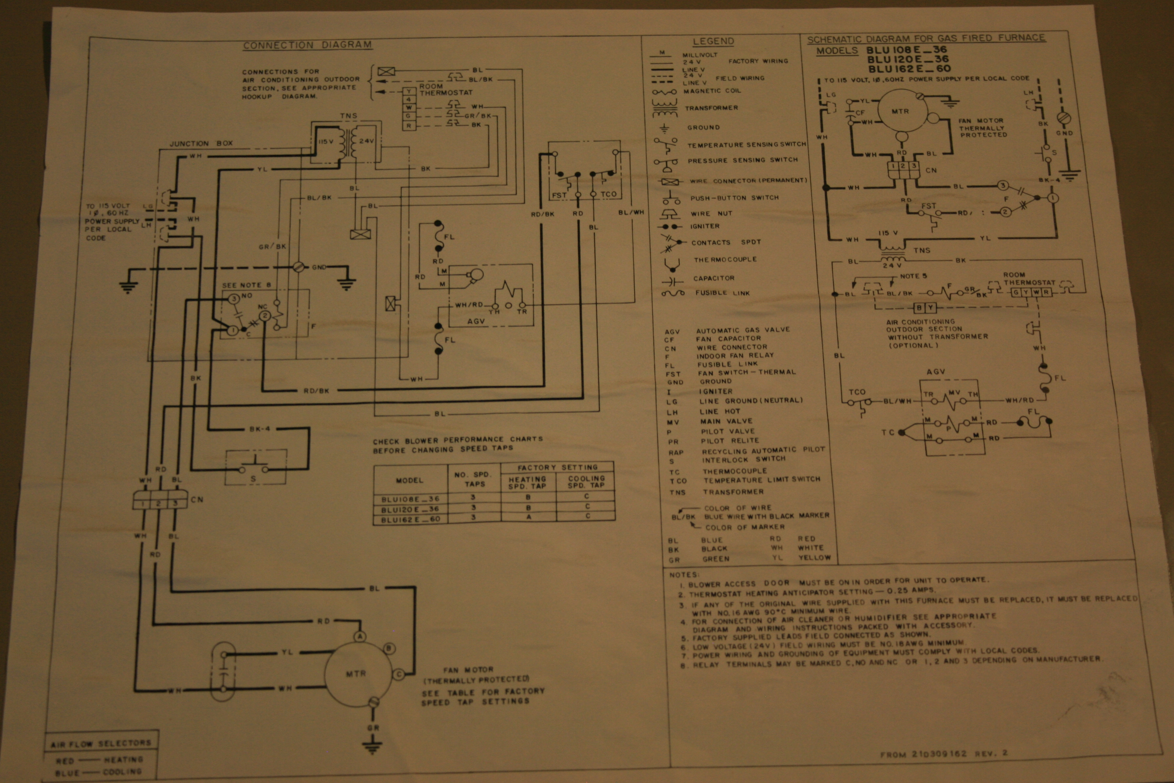 Trane Wiring Diagrams Gas Furnace Opinions About Diagram In Addition Nordyne Electric I Have A Schematic Indictes That It Is Lennox